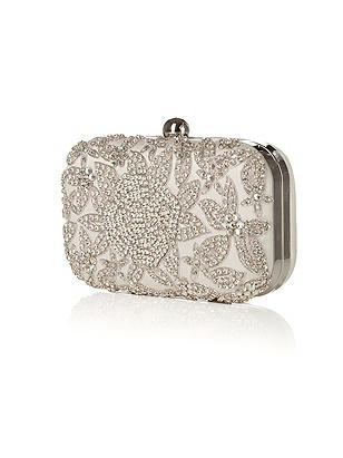 Crystal Rose Bridal Minaudiere
