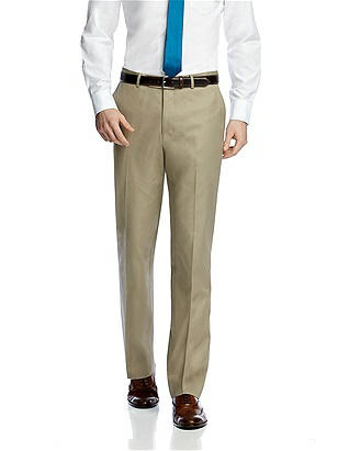 Classic Summer Suit Flat Front Pants by After Six
