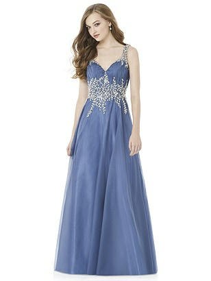After Six Larkspur Blue Long Prom Dress Maryanne