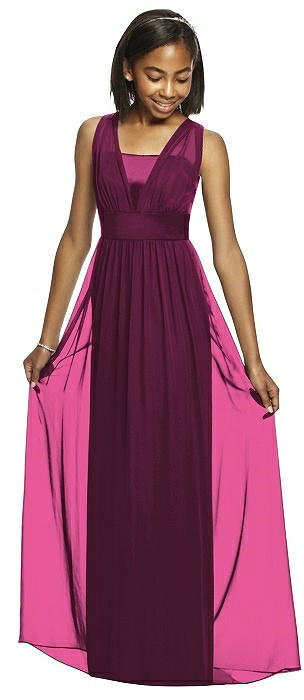 Dessy Collection Junior Bridesmaid JR531