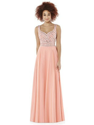 After Six Ginger Long Prom Dress Roxanne