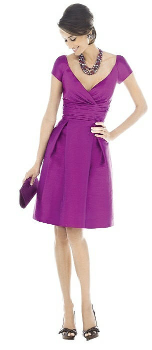 Alfred Sung Bridesmaid Dress D500