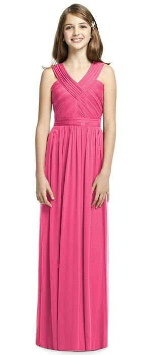 Dessy Collection Junior Bridesmaid JR535
