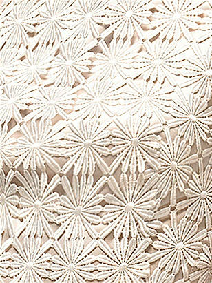 Daisy Lace Fabric by the 1/2 Yard