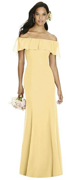 Yellow Bridesmaid Dresses | The Dessy Group