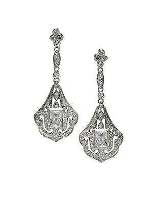 Art Deco Chandelier Earrings