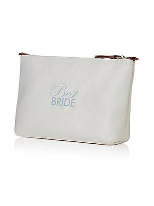 Best Bride Satin Cosmetics Bag