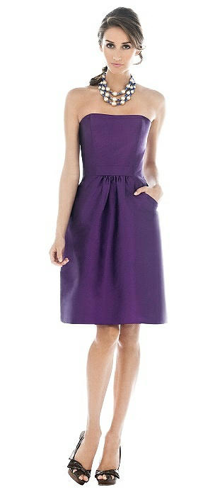 Alfred Sung Bridesmaid Dress D510