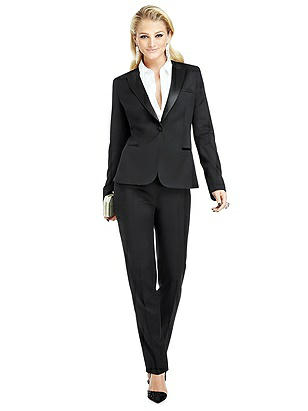 Marlowe Women's Tuxedo Jacket - Peak Collar