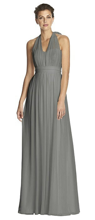 Charcoal Gray Bridesmaid Dresses | The Dessy Group