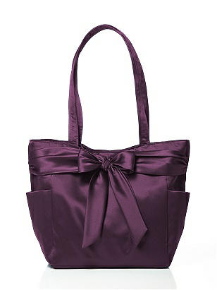 Fashion Tote Bag in Matte Satin