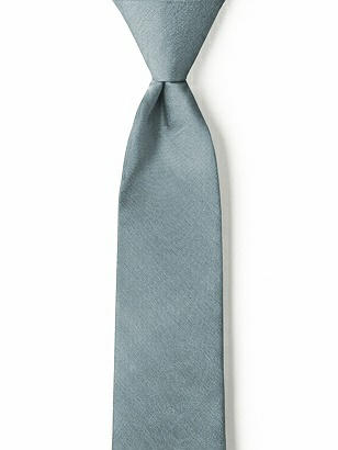 "Boy's 14"" Zip Neck Tie in Peau de Soie"