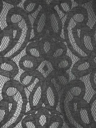 Modern Lace Fabric by the 1/2 Yard