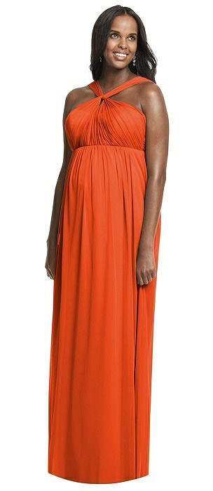 Dessy Collection Maternity Bridesmaid Dress M431
