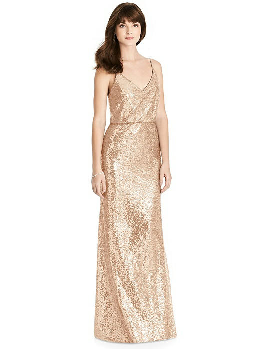 cd277bb0c3ec3 silver beach bridesmaid dress. A sparkling style by Adrianna Papell