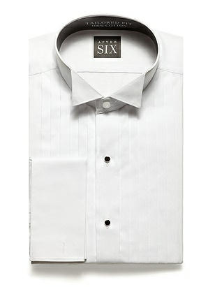 The Graham - Wing Collar Tuxedo Shirt