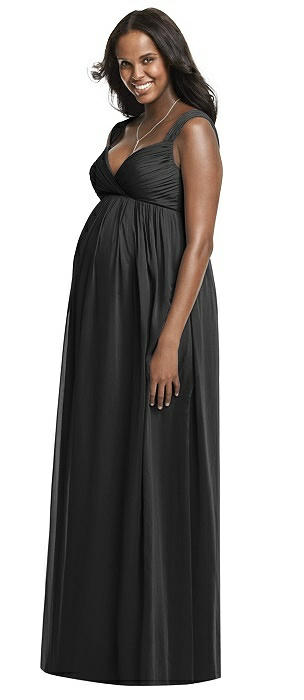 Dessy Collection Maternity Bridesmaid Dress M433