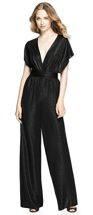 Soho Metallic Twist Jumpsuit