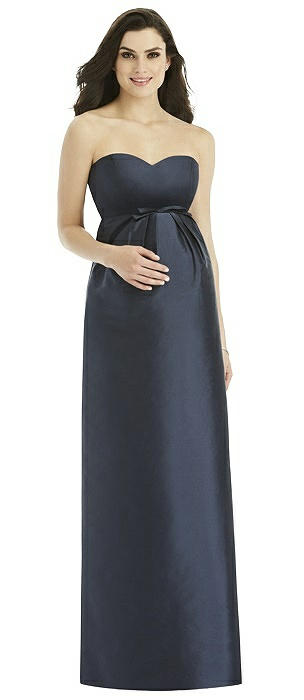Alfred Sung Maternity Bridesmaid Dress Style M436