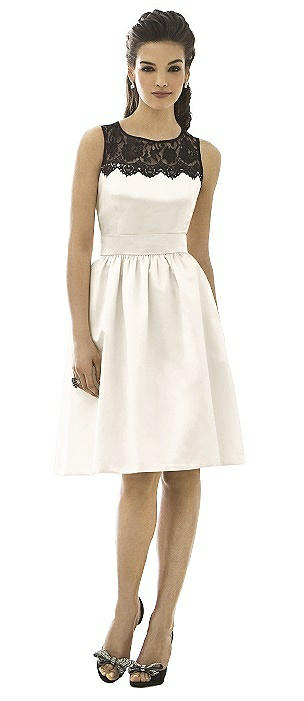 Cocktail Bridesmaid Dress