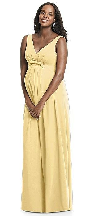 Dessy Yellow bridesmaid dresses pictures catalog photo