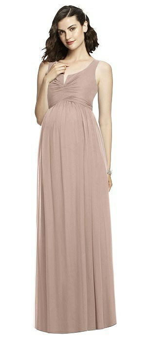 After Six Maternity Bridesmaid Dress M424