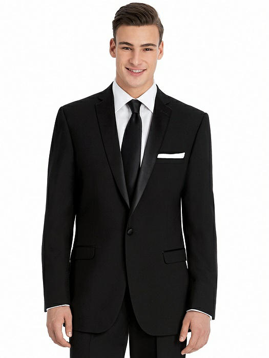 Slim Notch Collar Tuxedo Jacket - The Dylan