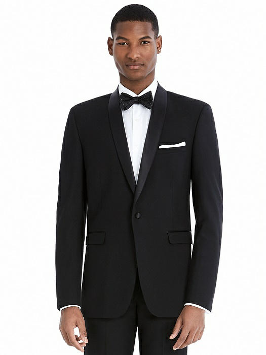 Slim Shawl Collar Tuxedo Jacket - The Ethan