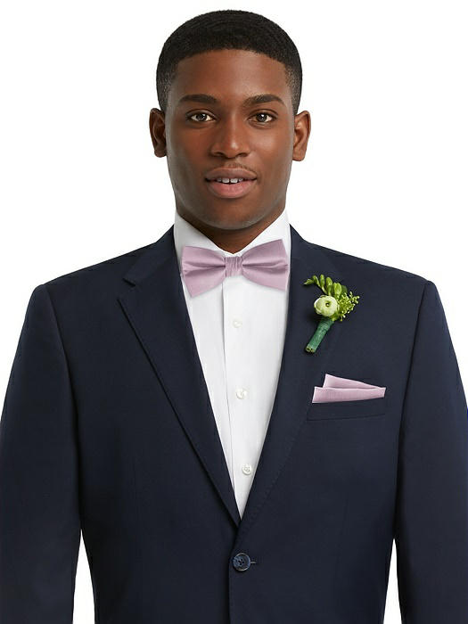 Men's Classic Yarn-Dyed Bow Tie by After Six