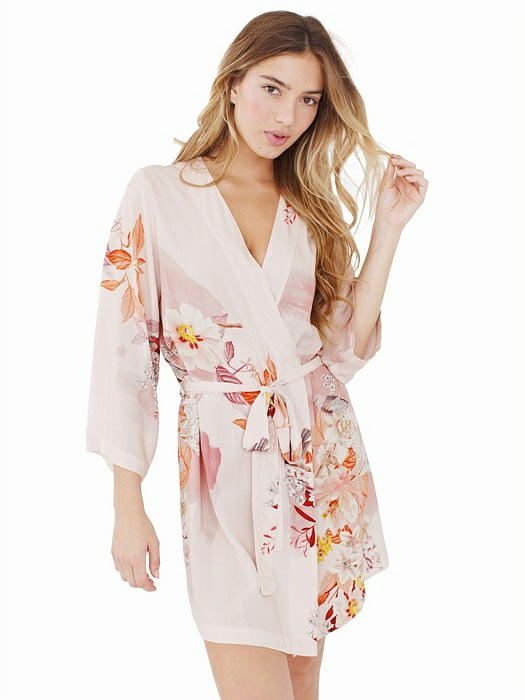 Knee Length Robe in Neverland - Bridesmaid Robe