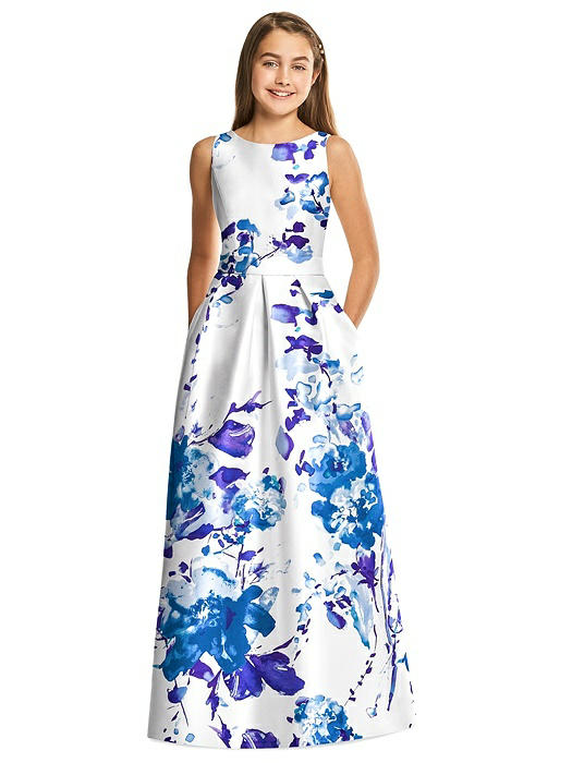 Alfred Sung Junior Bridesmaid Style JR544FLOR