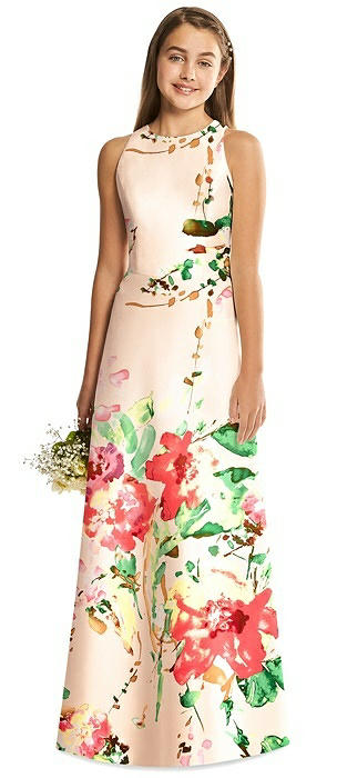 Alfred Sung Junior Bridesmaid Style JR545FLOR