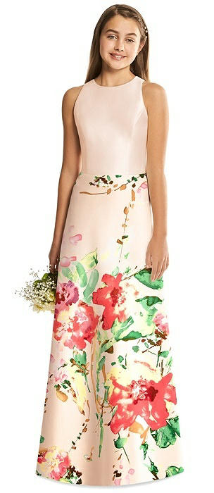 Alfred Sung Junior Bridesmaid Style JR545CBP