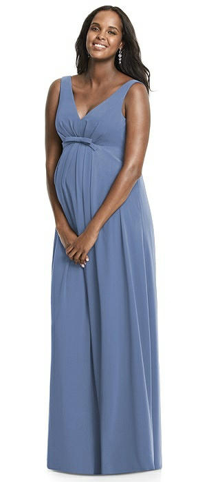 Maternity Larkspur Bridesmaid Dresses | The Dessy Group