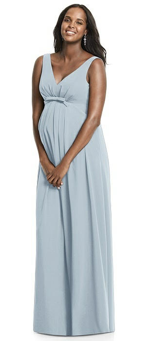 Mist Empire Waist Bridesmaid Dresses | The Dessy Group