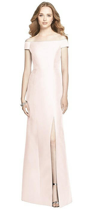 Pink Alfred Sung Trumpet Skirt Bridesmaid Dresses | The Dessy Group