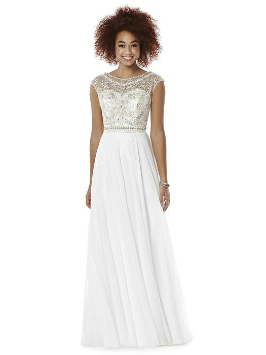 After Six Prom Dress: Portia, Ivory
