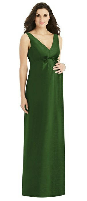 Alfred Sung Maternity Bridesmaid Dress M439