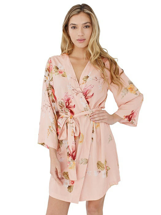 Knee Length Robe in Heartbreaker