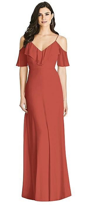 Dessy Bridesmaid Dress 3020