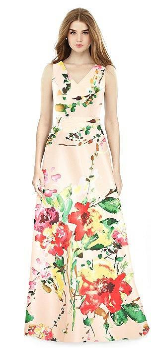 Alfred Sung Bridesmaid Dress D754FP