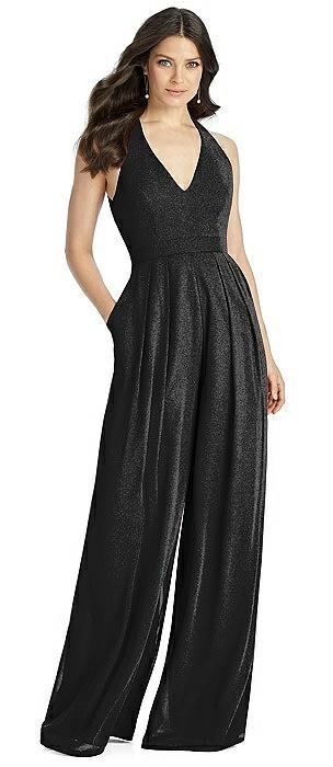 Dessy Shimmer Bridesmaid Jumpsuit Arielle LS