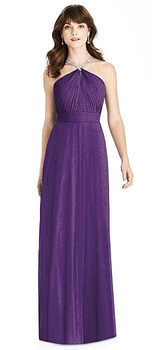 After Six Shimmer Bridesmaid Dress 6782LS