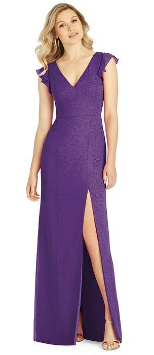 After Six Shimmer Bridesmaid Dress 6810LS