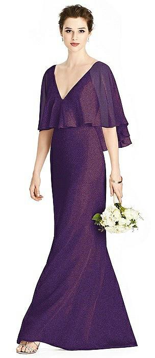 Studio Design Shimmer Bridesmaid Dress 4538LS