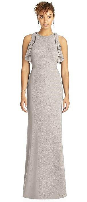 Studio Design Shimmer Bridesmaid Dress 4541LS