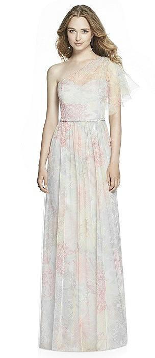 Jenny Packham Floral Bridesmaid Dress JP1003PRNT