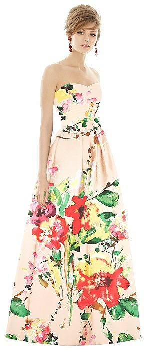 Alfred Sung Bridesmaid Dress D755FP