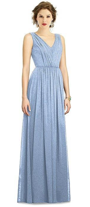Dessy Shimmer Bridesmaid Dress 3005LS