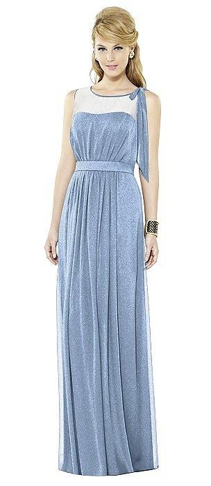 After Six Shimmer Bridesmaid Dress 6714LS